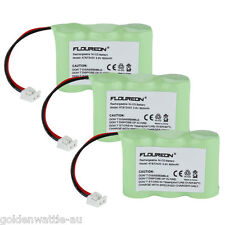 3 x Cordless Phone Battery Pack For AT&T Lucent 2422 80-5074-00-00 3.6V 600m