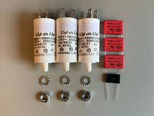 REVOX B77 Motorkondensatoren, Entstörkondensatoren, Motor Capacitors, Repairkit