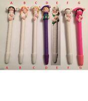 Nurse & Medic Pens - 7 Moulded designs for Nurse, Medics, ODP's,  BLACK INK