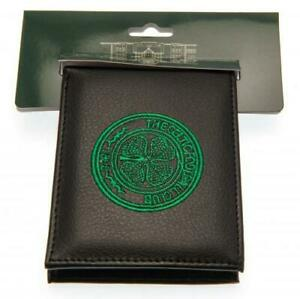 Celtic FC Official Crested Wallet With Multiple Card Slots Present The Hoops