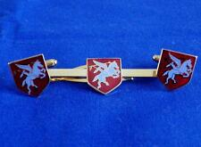 AIRBORNE FORCES ( PEGASUS ) CUFF LINK AND TIE GRIP / CLIP SET