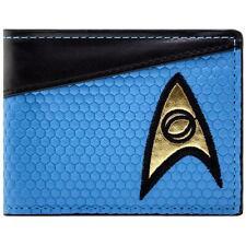Original Star Trek Blue Science Shirt Bi-fold Wallet