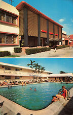 Postcard Miami Airways Motel