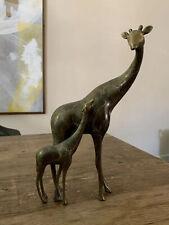 Spi Brass Giraffe collectible