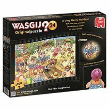 Jumbo Wasgij 19128 Original 24 Very Merry Holiday Jigsaw Puzzle (1000-Piece)