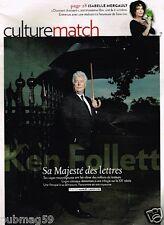Coupure de Presse Clipping 2010 (3 pages) Ken Follet