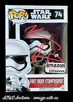 Funko POP - Star Wars - First Order Stormtrooper - Signed by Kevin Smith - PSA