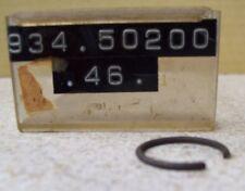 NOS OEM Yamaha Circlip 1966-1977 XS500D TX250C IT400C DT1E 93450-20046