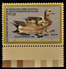 U. S. (Rw51) 1984 Federal Duck Stamp. Mnh, Unused, Og, Vf