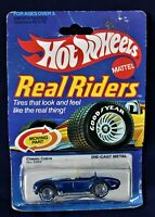New MIB Hot Wheels Real Riders Classic Blue Cobra See Pictures