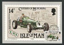 ISLE OF MAN MK 1985 AUTOS CARS ERA OLDTIMER MAXIMUMKARTE MAXIMUM CARD MC d5145