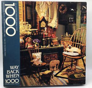 """Springbok """"WAY BACK WHEN """" 1000 Piece Jigsaw Puzzle  Item PZL5931"""