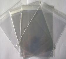 A4 Clear Cello Bags With Self Seal Strip - 25 Pack