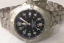 "Breitling ""Super Ocean"" Automatic 1524m/5000ft Diver Watch Black Dial A17345"