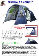 Tenda igloo MISTRAL 4 + CANOPY Nova Outdoor