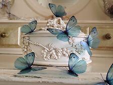 Butterflies Teal Blue 3D Butterfly Decorations hand Made 8