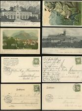 GERMANY BAVARIA 1904-06 4 ITEMS...UNDIVIDED BACK PICTURE POSTCARDS