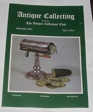ANTIQUE COLLECTING SEPTEMBER 1984 - WILLIAM WISE