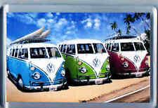 Acrylic Fridge Magnet 75 x 50mm - Camper Vans