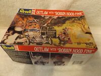 VINTAGE MODEL--REVELL--OUTLAW with ROBBIN HOOD FINK--1/24 SCALE--PARTIAL KIT
