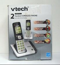 Vtech Cs6719-2 Dect 6.0 Phone with Caller Id/Call Waiting, Silver/Black