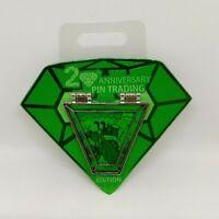 Pluto Pin Trading 20th Anniversary Countdown Gem LE 4000 Disney Pin