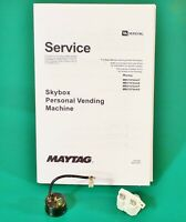 Maytag Skybox Compressor Starter Relay + Overload Protector + Service Manual Kit