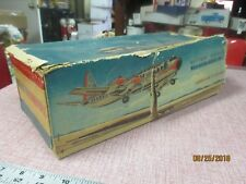 Marx N6100A American Airlines battery-powered tin toy airplane vintage 1960s