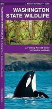 Washington State Wildlife: A Folding Pocket Guide to Familiar Species (A Pocket