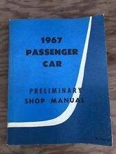 Original 1967 Ford Mustang Cougar Shop Service Manual Thunderbird Falcon