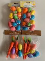 Easter Decorations Egg Garland X 2 And Hanging Decorations X2