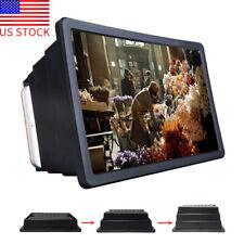 3D HD Screen Amplifier Mobile Cell Phone Screen Magnifier Folding Stand Bracket