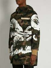 Authentic Valentino Camouflage Panther Parka Jacket Size 44 Oversize Large