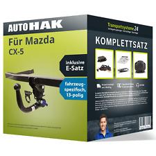 Für Mazda 5 03.2008-09.2010 AUTO HAK Anhängerkupplung abnehmbar 13polig E-Satz