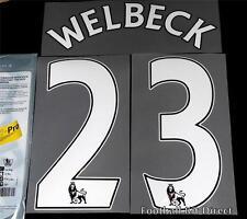 Arsenal Welbeck 23 Premier League Football Shirt Name Set 14/15 Player Size Home