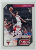 2019-20 Panini Chronicles Threads Pink Coby White Rookie RC #95, Chicago Bulls