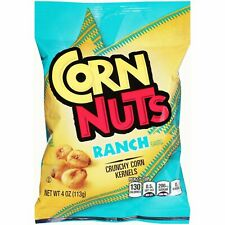 Kraft CORN NUTS Crunchy Corn Kernels RANCH/BBQ Flavors NEW Exp 6/20 *2/4 oz Bags
