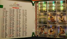 2015 AFL Select Silver Parallel Set of 220 cards in album