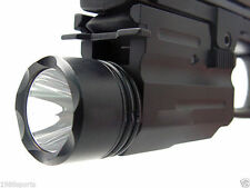 Cow 300Lm Cree Flashlight/lights fit for Pistol/Glock Weaver/Picatinny Rail #a05