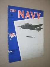 THE NAVY. MONTHLY MAGAZINE. MAY 1942. WW2 ISSUE.