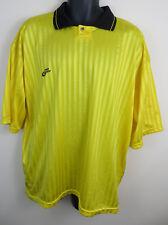 Pro Touch Retro Football Shirt Soccer Jersey 80s 90s Trikot Yellow Maillot XL