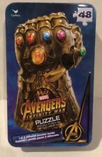 Marvel Avenger Surprise Puzzle in Collectable Tin  New 48 Piece