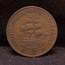 1939 British South Africa (Union) penny, George VI, KM-29 (SA2)