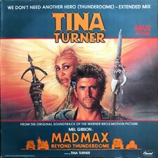 "Tina Turner - We Don't Need Another Hero - Mad Max BOF - Vinyl 12"" Maxi 45T"