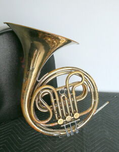 Reynolds French Horn  with case.  Missing mouthpiece.
