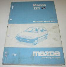 Werkstatthandbuch Mazda 121 Typ DA Motor Karosserie Bremsen Stand Januar 1988!