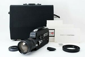 Excellent+++++ Elmo Super 110 8mm super 8 Cine Movie Film Camera From JAPAN