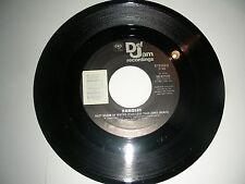 Bangles - Hazy Shade Of Winter // Joan Jett - She Lost You 45  Def Jam NM 1987