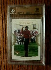 2001 Upper Deck Tiger Woods Rookie  SUNDAY RED  BGS 10 !  SUPER HOT ROOKIE CARD