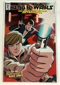 Star Wars Adventures #21 A,  IDW Comic Book, Disney Plus, NM